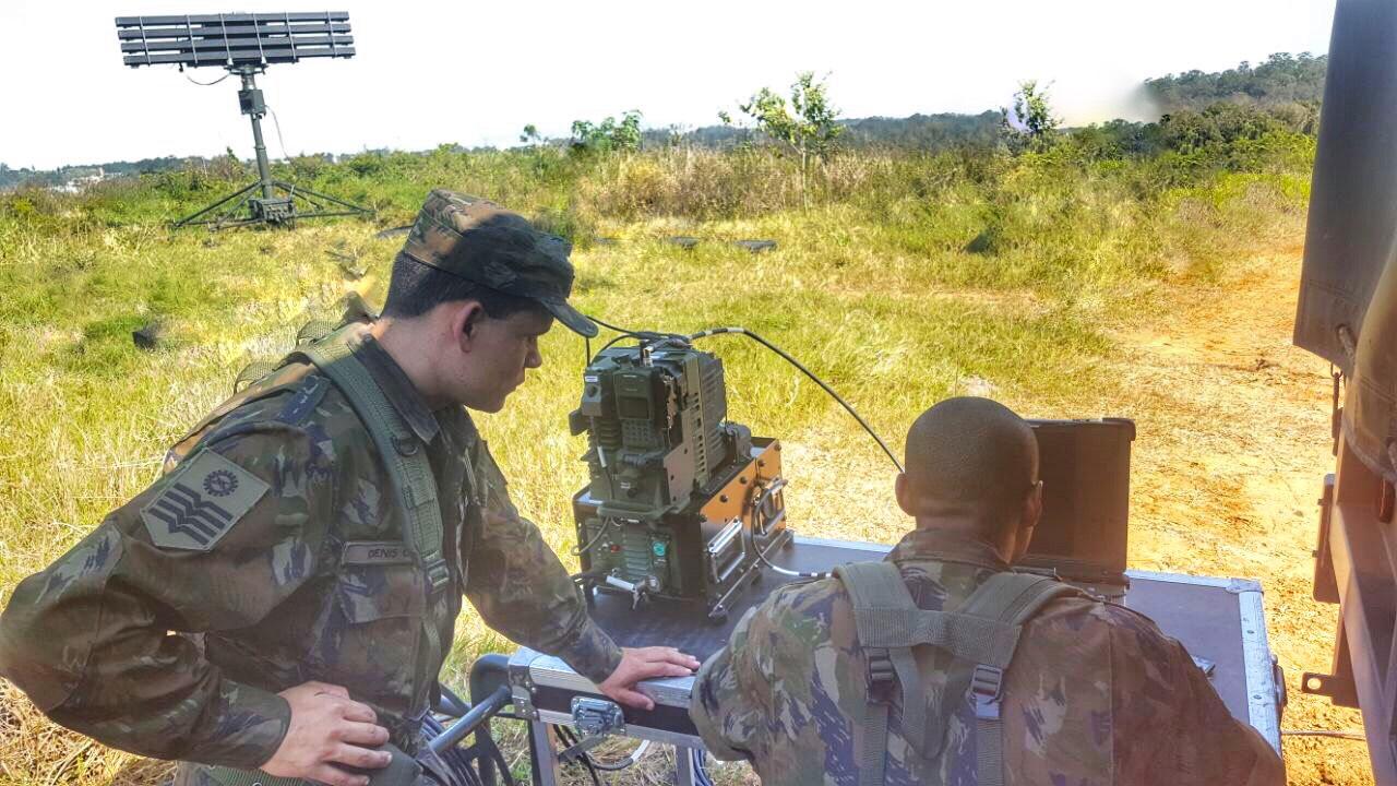 O objetivo foi validar os locais onde serão instalados os meios antiaéreos