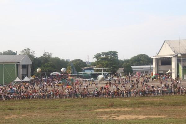 O evento contou com diversas atividades para crianças e adultos