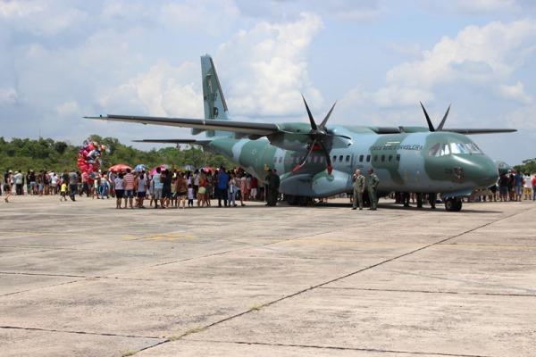 Portões Abertos teve exposição estática de aeronaves militares e civis