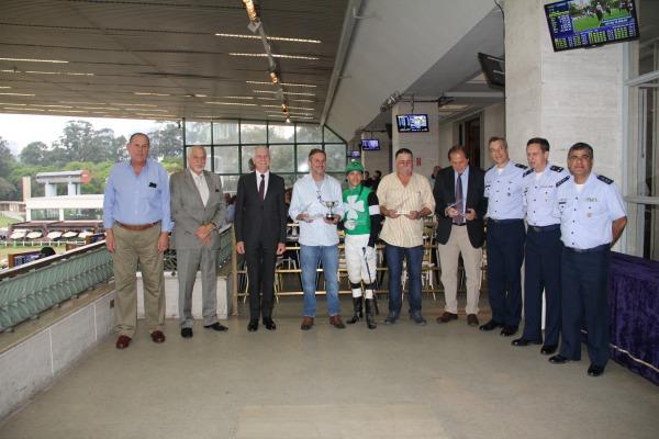 Cinco páreos foram batizados em homenagem à Aviação Brasileira