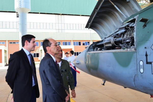 Servidores do Ministério da Ciência, Tecnologia, Inovações e Comunicações conheceram a Ala 2 e o Terceiro Grupo de Defesa Antiaérea
