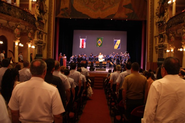 Ala 8 realizou Concerto Sinfônico no Teatro Amazonas
