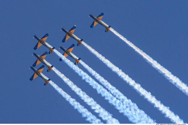 As celebrações já iniciaram na Ala 4 e na Escola de Especialistas de Aeronáutica