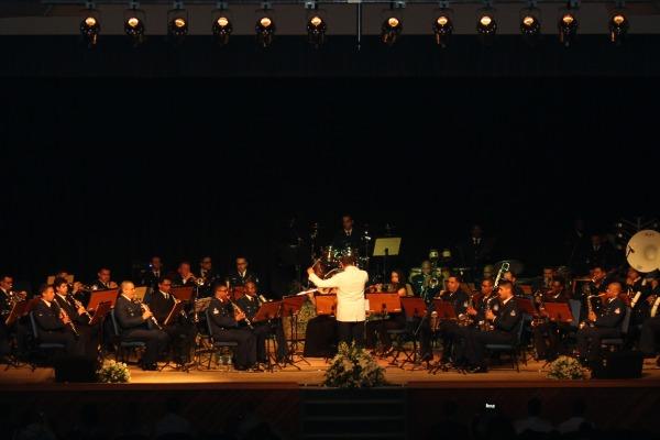 Um concerto, promovido pela Ala 4, foi realizado em Santa Maria