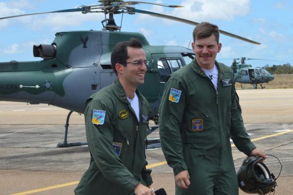 O exercício formou 25 pilotos de helicóptero