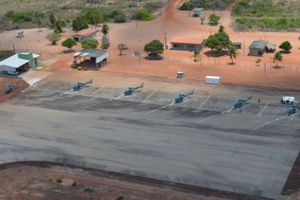 Helicópteros H-50 Esquilo a postos em Maxaranguape