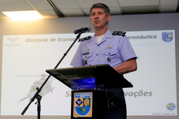 Diretor de Finanças da Aeronáutica, Major-Brigadeiro Heraldo