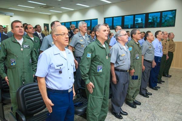 Oficiais-Generais das três Forças participaram da abertura do evento
