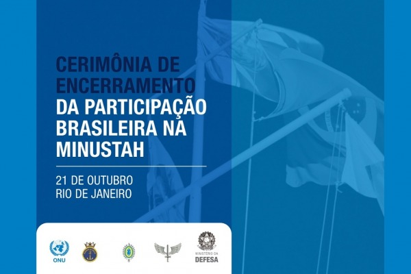 Solenidade será realizada no sábado (21/10) no Rio de Janeiro