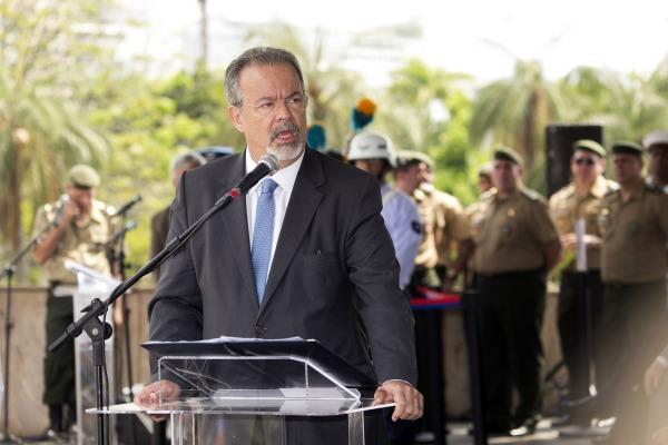 Ministro da Defesa elogiou entrega dos militares que fizeram parte da missão.