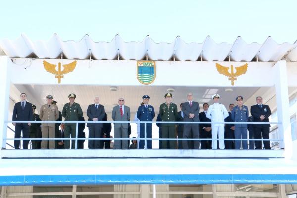 A cerimônia foi presidida pelo Comandante da BAFL
