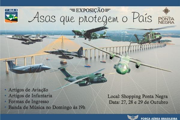 FAB realizará exposição em shopping de Manaus