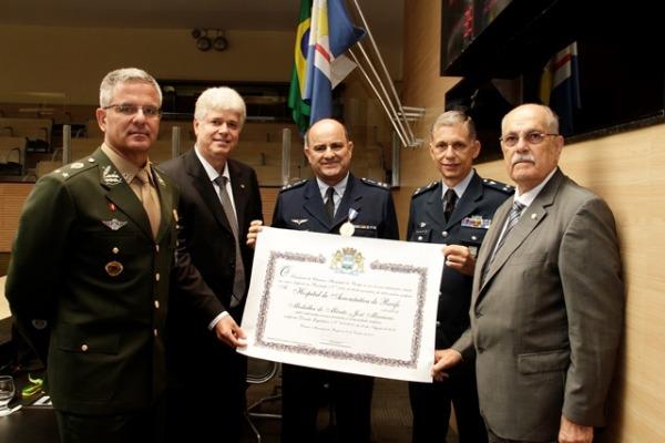 Unidade foi agraciada com a medalha José Mariano por seus 71 anos