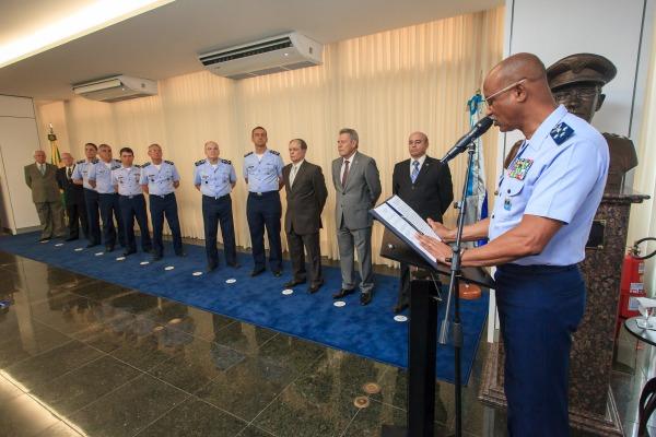 A cerimônia foi marcada pela realização de diversas homenagens