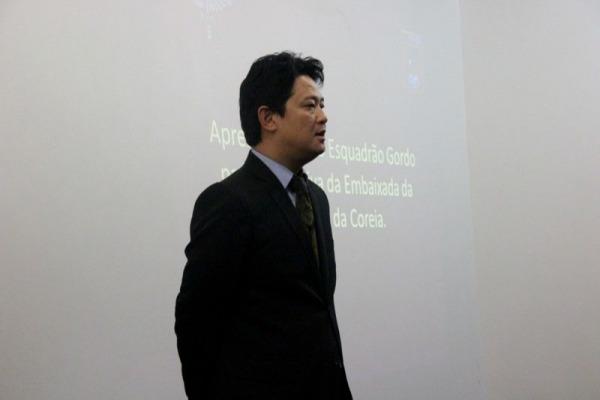 Conselheiro de Política da Embaixada da Coreia do Sul no Brasil, Lim Sang