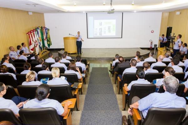 Ao todo, 35 unidades foram representadas no evento por mais de 160 militares