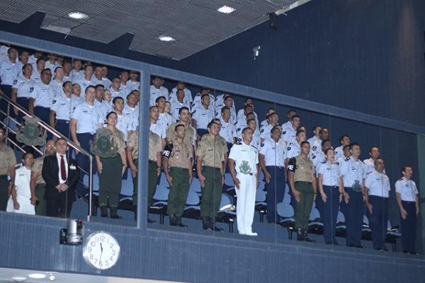 Evento reuniu civis e militares