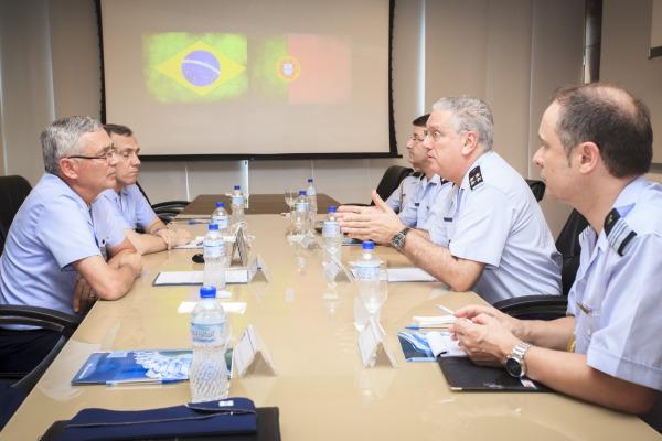 O Chefe do Estado-Maior da Força Aérea de Portugal conheceu, também, a estrutura operacional e organizacional da FAB