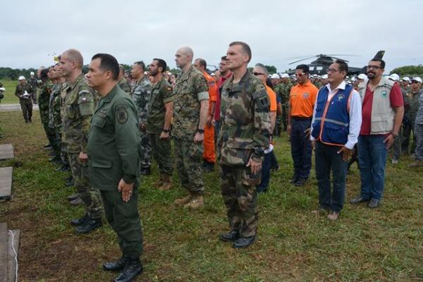 Cerca de dois mil militares e civis participam das atividades