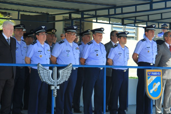 Diretor de Material Aeronáutico e Bélico presidiu a cerimônia