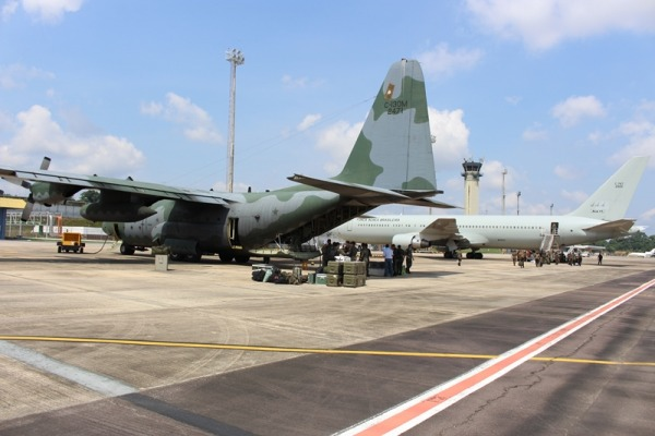 Esquadrão Corsário participou da desmobilização da AMAZONLOG 2017