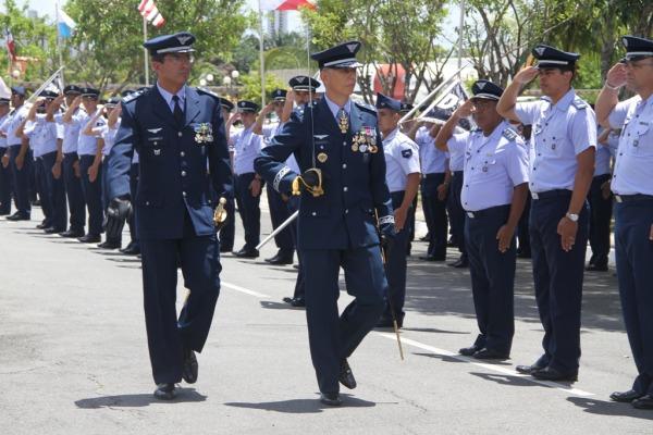 Brigadeiro Walcyr também é o Comandante do II COMAR