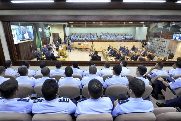 A Guarniçao de Aeronautica de Natal prestigiou o evento