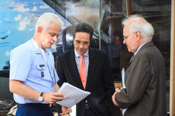 Objetivo foi conhecer trabalho da FAB e seu processo de modernização