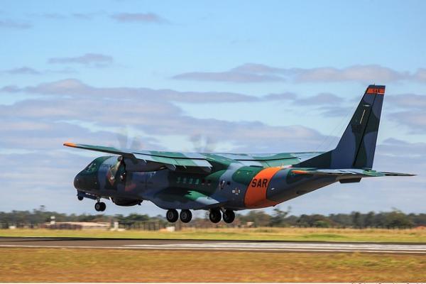 SC-105 Amazonas SAR já está a caminho da Argentina