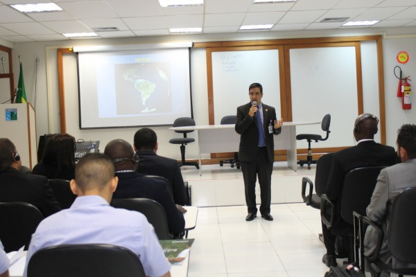Participaram do curso operadores e mantenedores de oito países