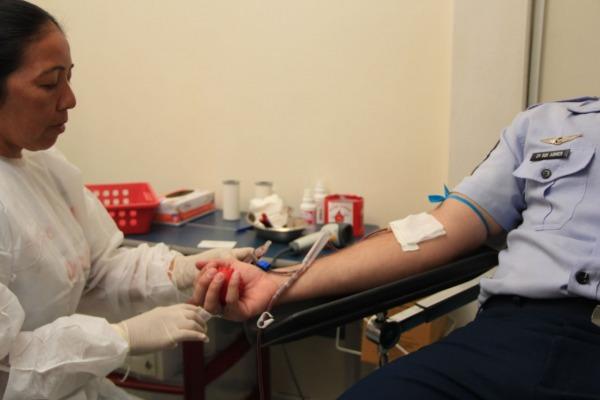 Foram coletadas 54 bolsas que serviram para reforçar o banco de sangue do Estado