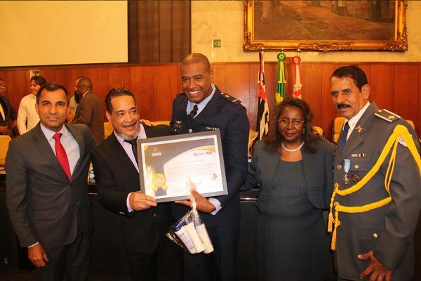 Prêmio África Friends foi concedido pela Câmara Municipal de São Paulo