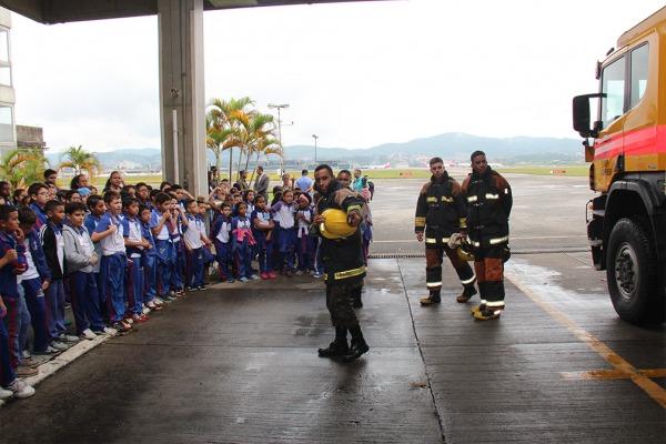 Instrução na Companhia de Contraincêndio