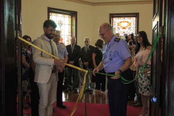 Inauguração da Exposição, no Arquivo Nacional (RJ)