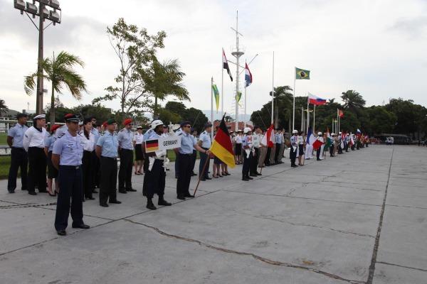 Competição está sendo sediada em organização da Força Aérea Brasileira no Rio