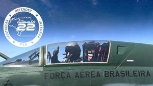 A Força Aérea Brasileira é responsável por Controlar, Defender e Integrar em um cenário de 22 milhões de quilômetros quadrados
