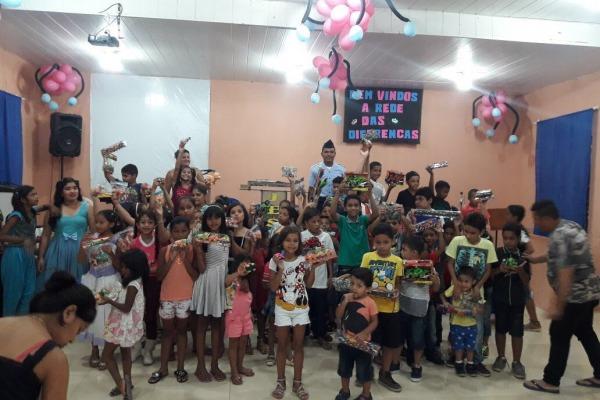 A distribuição ocorreu em mais de 60 instituições de caridade da capital e do interior do Amazonas