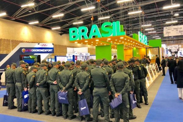 Sexta edição da Expodefensa aconteceu em Bogotá e rendeu negócios para o Brasil