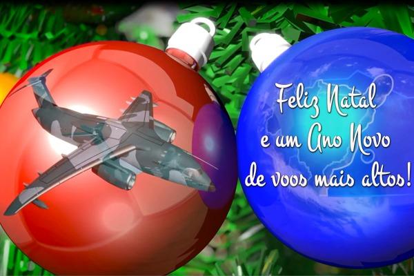 Veja o vídeo preparado pela Força Aérea Brasileira para celebrar o fim de ano