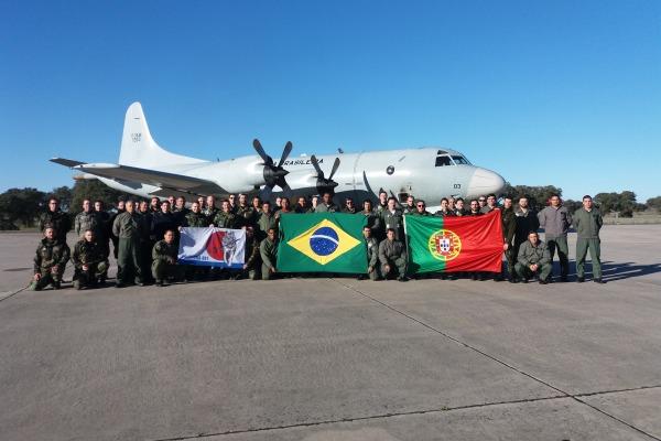 Exercício Brasil-Portugal busca trocar experiências operacionais e logísticas