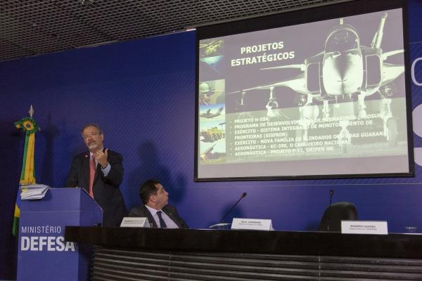Ministro falou sobre Projetos Estratégicos da FAB
