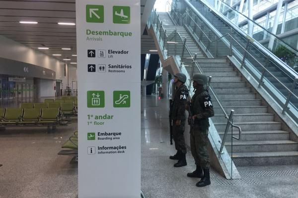 Entre as áreas de responsabilidade está o Aeroporto Internacional de Natal