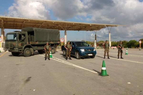 A operação conta com o apoio de 75 militares da FAB