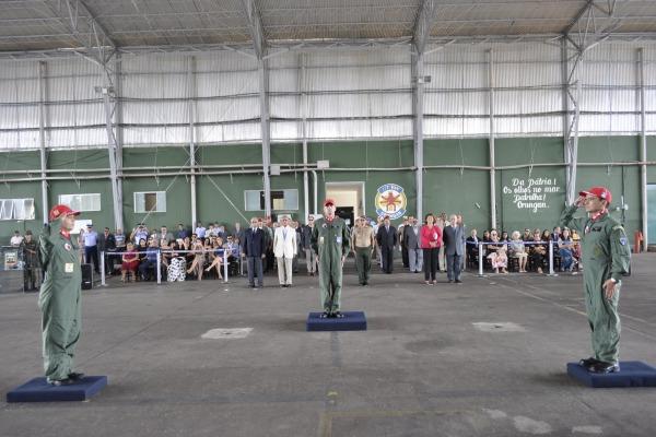Passagem de Comando do Esquadrão Orungan