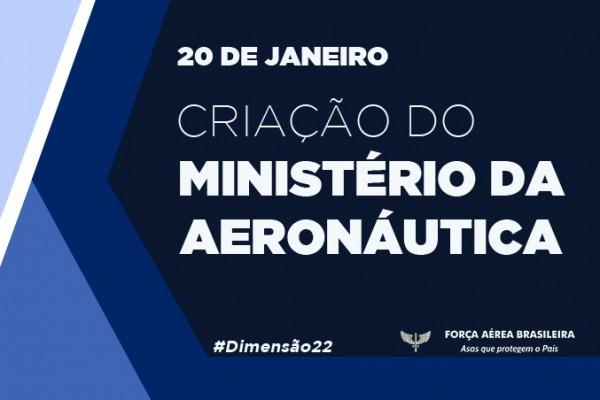 Todo conteúdo relativo ao Ministério da Aeronáutica será encontrado na página especial
