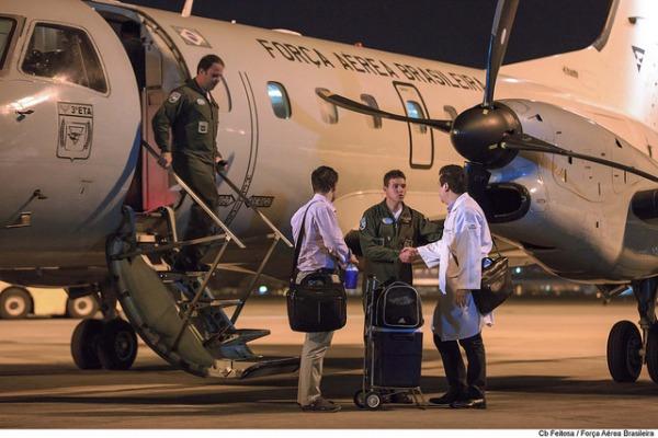 Transporte de órgãos faz parte da missão de Integrar da FAB