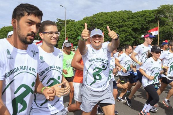 Corrida para a Paz em Brasília bateu recorde de público