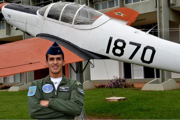 Conheça a história do Cadete da AFA que, mesmo diante das dificuldades, não desistiu do sonho de se tornar aviador