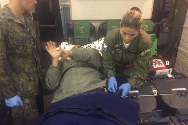 Três pessoas foram transportadas para Hospitais da FAB no Rio de Janeiro