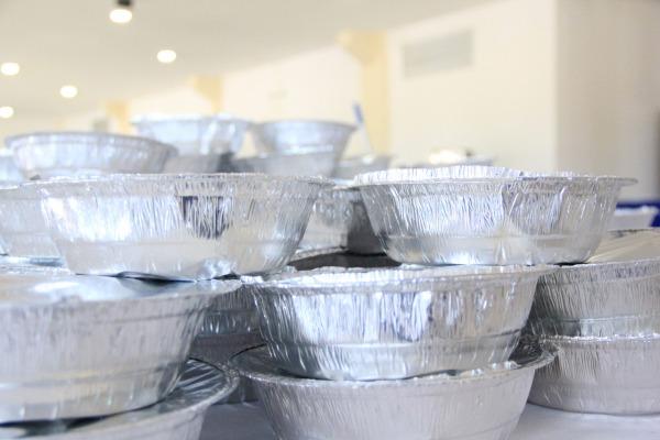 Ao total, são produzidas 800 refeições por dia